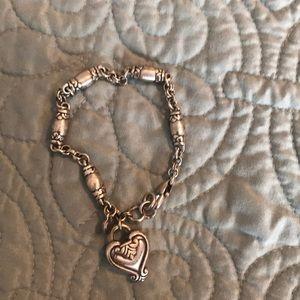 Brighton single heart bracelet